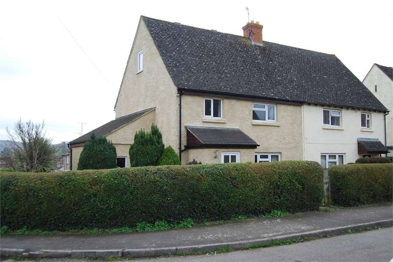 3 Bedrooms Semi Detached House for sale in Devereaux Cresent, Ebley, Stroud, Glos