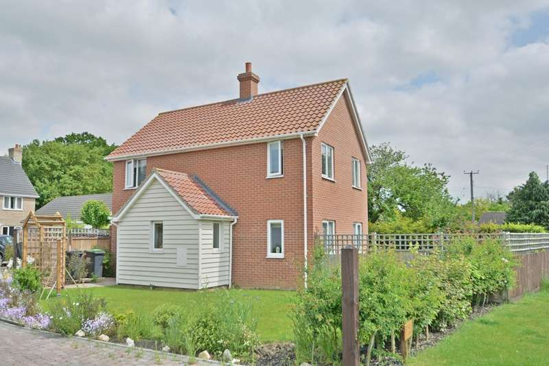 3 Bedrooms Detached House for sale in Vicarage Road, Wingfield