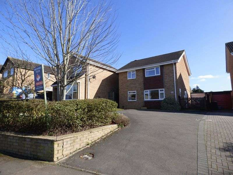 4 Bedrooms Detached House for sale in Wheatway, Gloucester