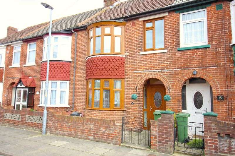 3 Bedrooms Terraced House for sale in Hilldowns Avenue, Portsmouth