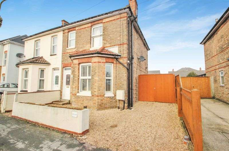 3 Bedrooms Semi Detached House for sale in Shelbourne Close, Bournemouth