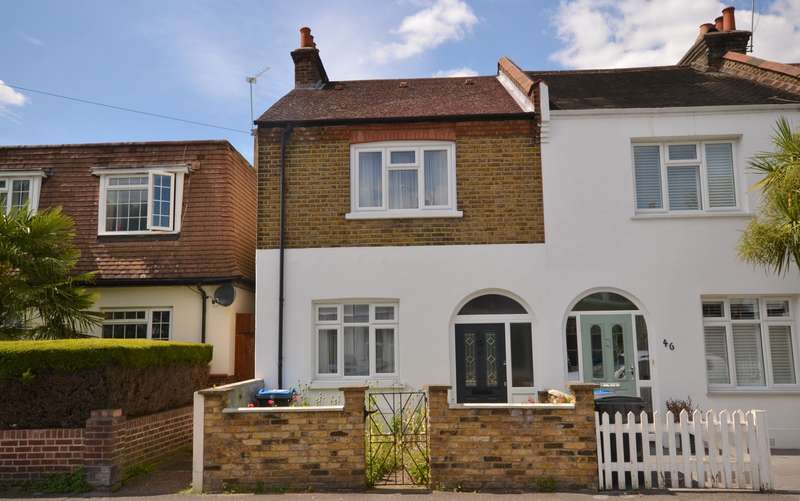 2 Bedrooms End Of Terrace House for sale in New Malden