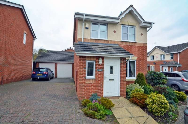 3 Bedrooms Link Detached House for sale in Viaduct Close, Rugby