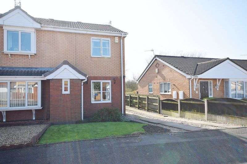 2 Bedrooms Semi Detached House for sale in Broughton Road, Bucknall
