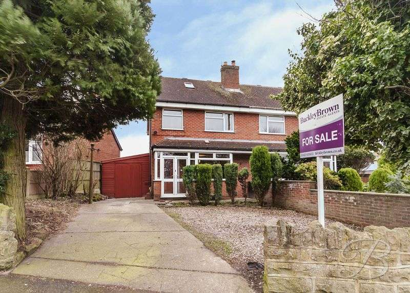 3 Bedrooms Semi Detached House for sale in Black Scotch Lane, Mansfield
