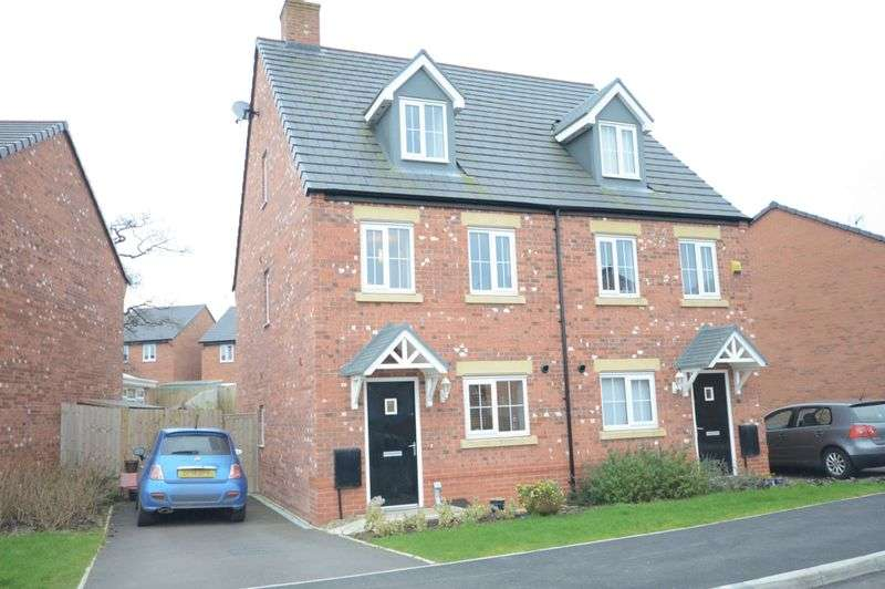 3 Bedrooms Semi Detached House for sale in Fairfax Avenue, Tarvin, Chester