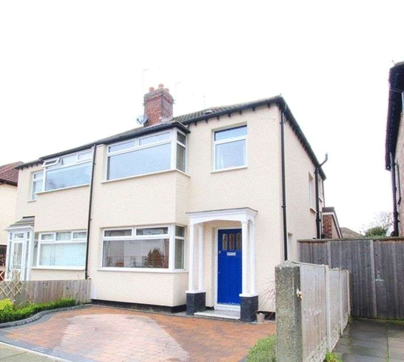 3 Bedrooms Semi Detached House for sale in Mossville Road, Mossley Hill, Liverpool, L18