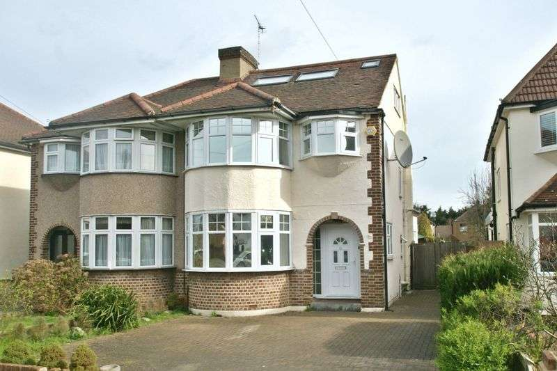 4 Bedrooms Semi Detached House for sale in Redden Court Road, Harold Wood