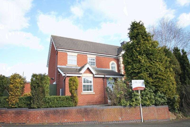4 Bedrooms Detached House for sale in Burghley Way, Littleover