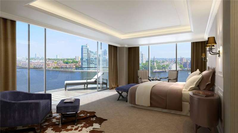 4 Bedrooms Unique Property for sale in Chelsea Waterfront, Lots Road, Chelsea, London, SW10