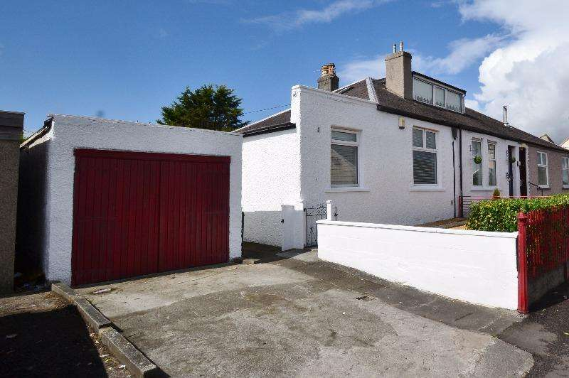 2 Bedrooms Bungalow for sale in Overtoun Road, Springside, North Ayrshire, ka11 3bg