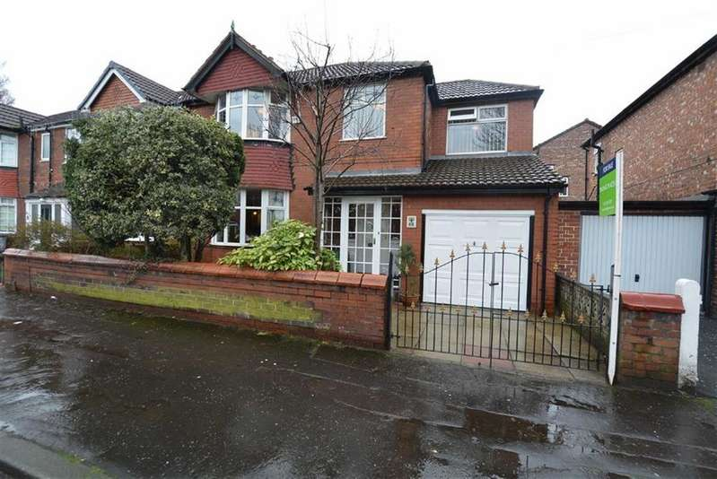 4 Bedrooms Semi Detached House for sale in Davyhulme Road East, STRETFORD