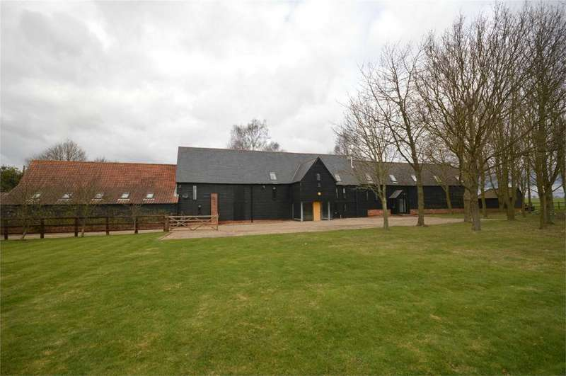 5 Bedrooms Barn Conversion Character Property for sale in Readings Farm, Bakers Farm Lane, Blackmore End, Braintree