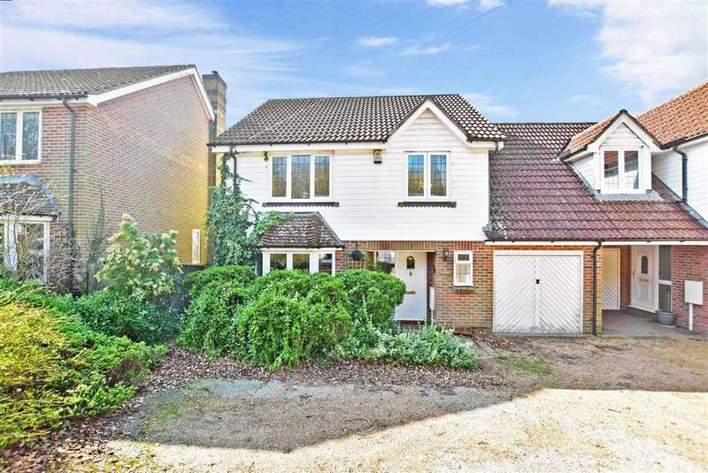 4 Bedrooms Link Detached House for sale in Palesgate Lane, Crowborough, East Sussex