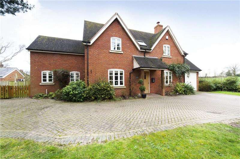 4 Bedrooms Detached House for sale in Sinton Green, Hallow, Worcester, Worcestershire, WR2