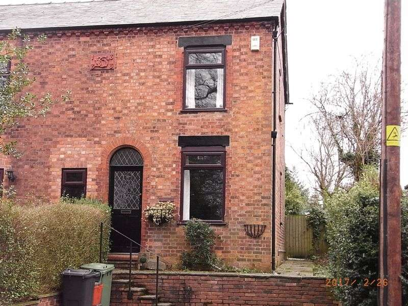 2 Bedrooms Semi Detached House for sale in Park View, Warrington Road, Comberbach, CW9 6AY