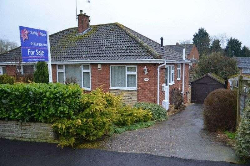 2 Bedrooms Semi Detached Bungalow for sale in Colins Walk, Scotter, Gainsborough