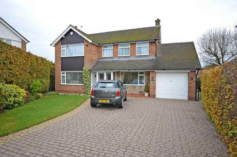 3 Bedrooms Detached House for sale in Northcote Road, Bramhall