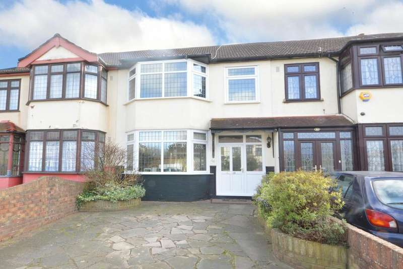 3 Bedrooms Terraced House for sale in Amery Gardens, Gidea Park, Essex RM2