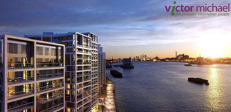 1 Bedroom Apartment Flat for sale in Royal Arsenal Riverside Waterfront, 2 Duke of Wellington Avenue, London SE18