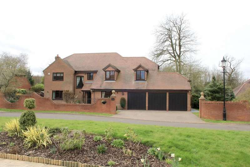 5 Bedrooms Detached House for sale in Shawbury Lane, Shustoke