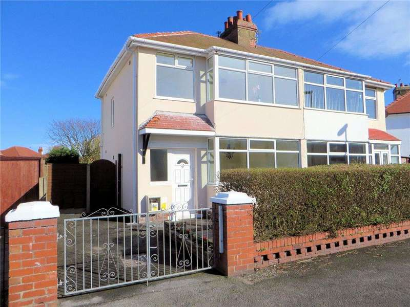 3 Bedrooms Semi Detached House for sale in Bleasdale Avenue, Anchorsholme, Thornton-Cleveleys