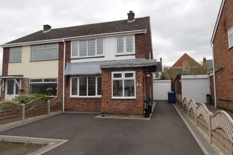 3 Bedrooms Semi Detached House for sale in Castle View, Tamworth