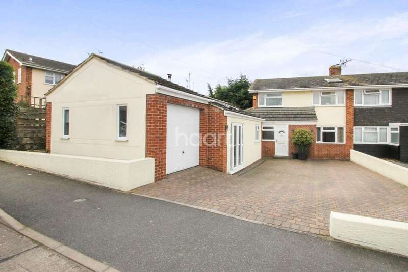 3 Bedrooms Semi Detached House for sale in Warwick Close, Braintree