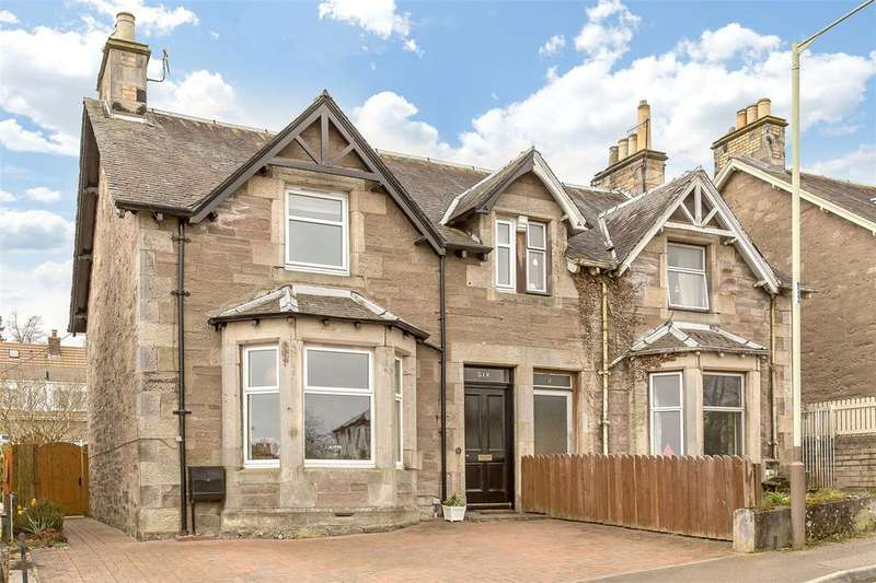 3 Bedrooms Semi Detached House for sale in 6 Kinnaird Bank, Perth, PH2