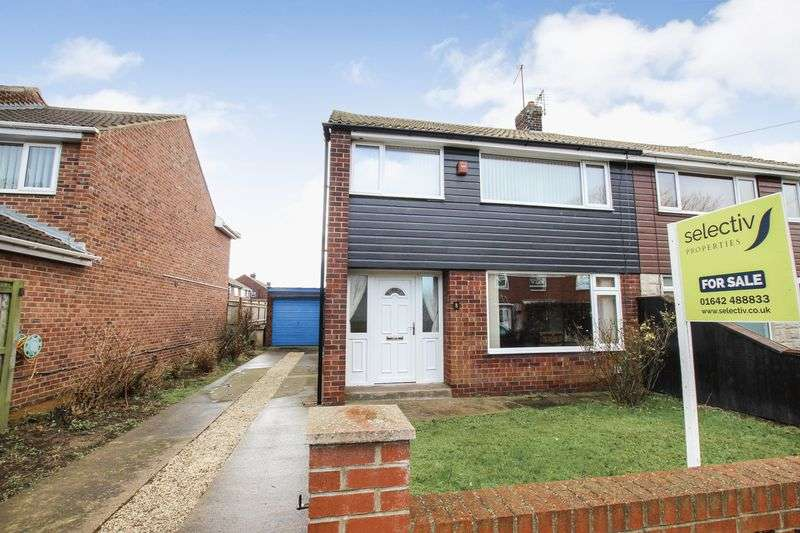 3 Bedrooms Semi Detached House for sale in Trent Road, Redcar