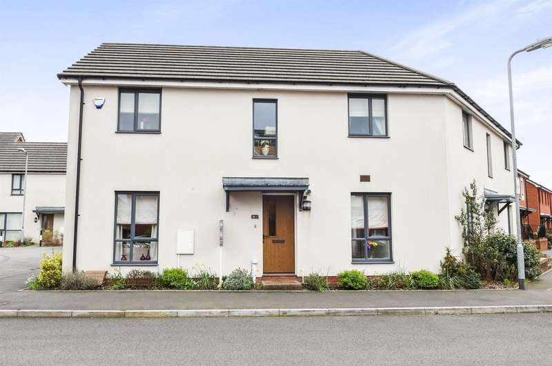 3 Bedrooms Semi Detached House for sale in Bartley Wilson Way, Cardiff