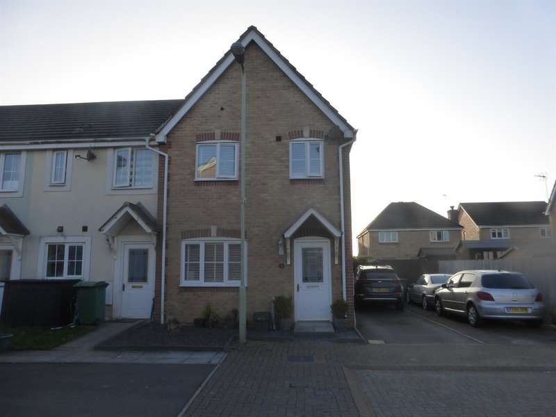 3 Bedrooms Semi Detached House for sale in Bluebell Drive, Llanharan, Pontyclun