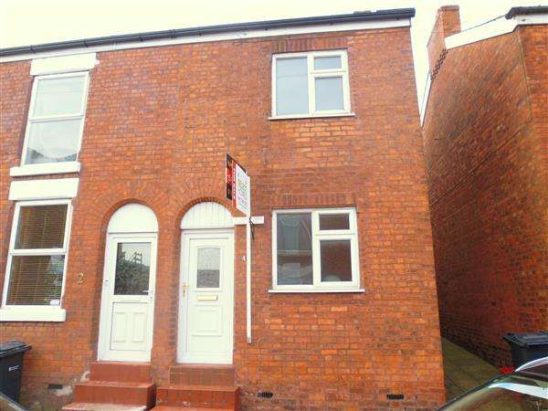 2 Bedrooms Semi Detached House for sale in Siddorn Street, Winsford