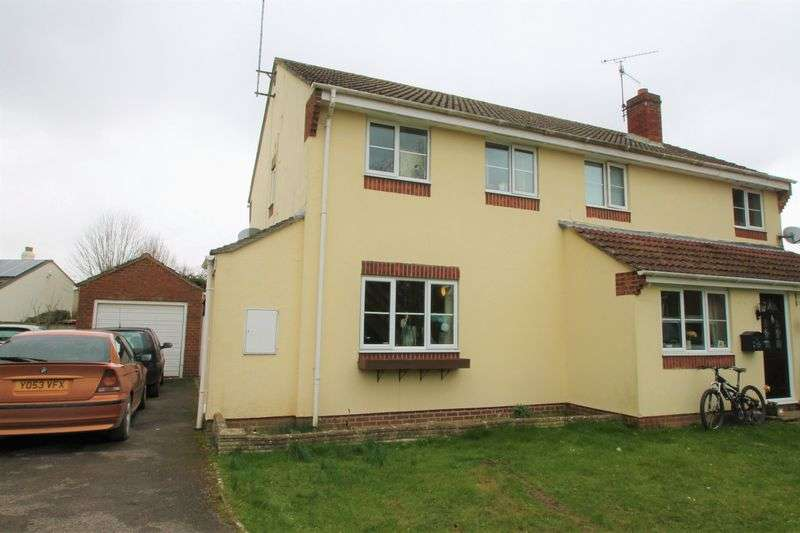 3 Bedrooms Semi Detached House for sale in Milling Close, Ashton Keynes, Wiltshire