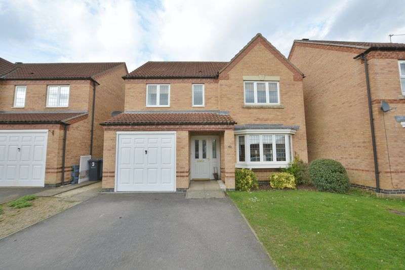 4 Bedrooms Detached House for sale in Flinders Way, Cherry Willingham, Lincoln