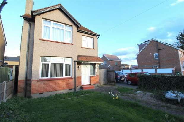 4 Bedrooms Detached House for sale in Stanwell Road, Ashford, Surrey