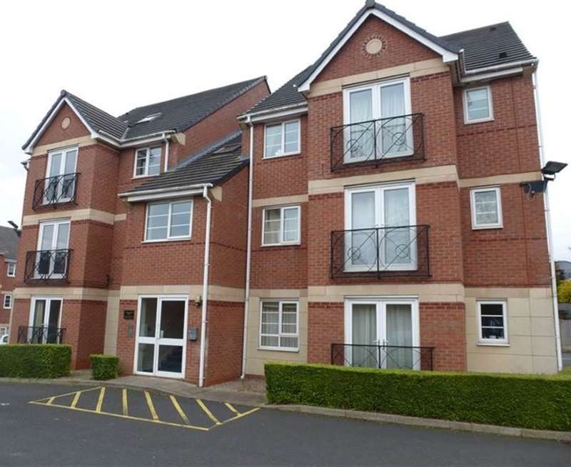 1 Bedroom Flat for sale in Sandringham Court, Walsall Road, Great Barr, Birmingham, West Midlands, B42 1TF
