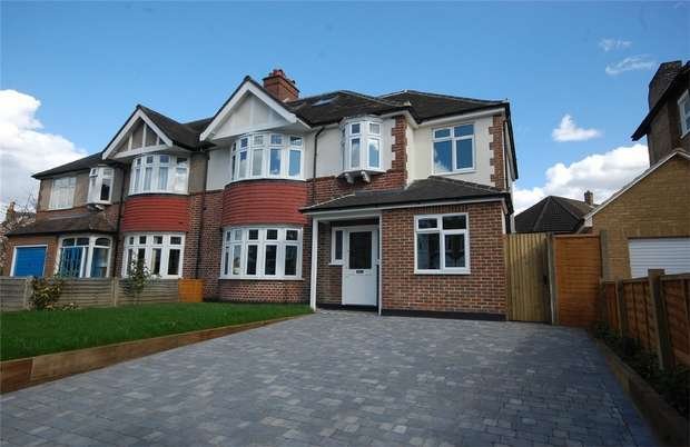 5 Bedrooms Semi Detached House for sale in Gloucester Road, Teddington