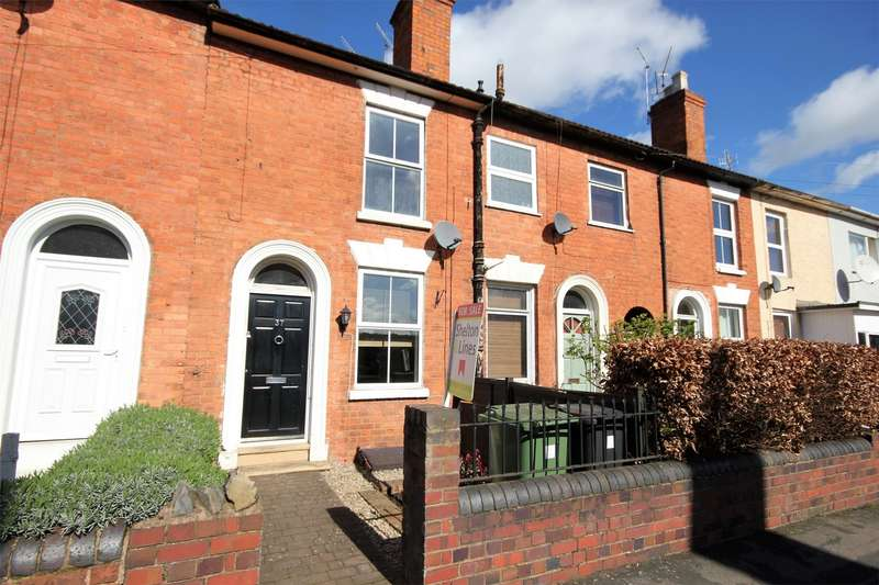 2 Bedrooms Terraced House for sale in Chestnut Street, City Centre, Worcester