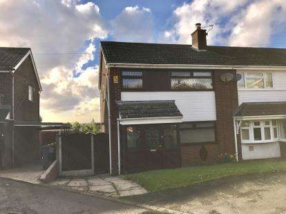 3 Bedrooms Semi Detached House for sale in Mayfair Close, Dukinfield, Greater Manchester