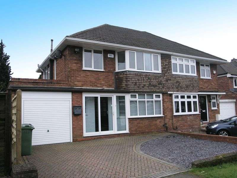 3 Bedrooms Semi Detached House for sale in Brownswall Road, Dudley