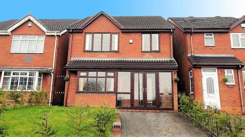 5 Bedrooms Detached House for sale in Hall Lane, Hurst Hill, Coseley