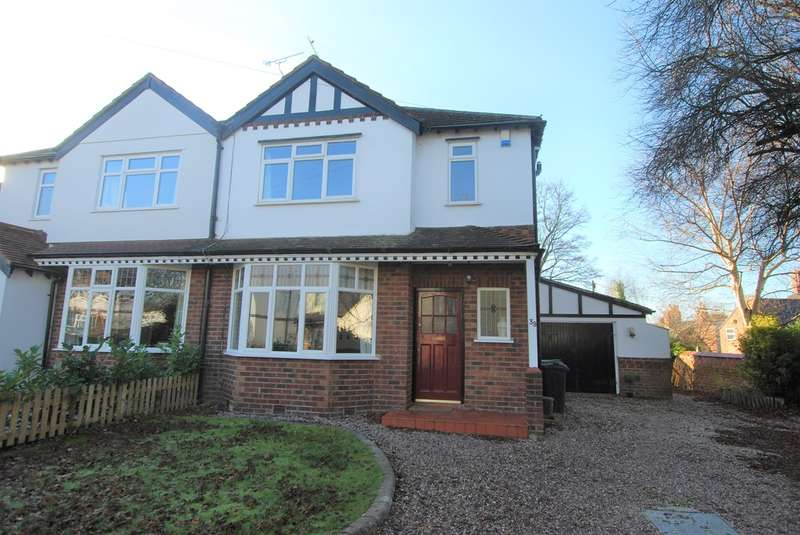 3 Bedrooms Semi Detached House for sale in Glan Aber Park, Chester