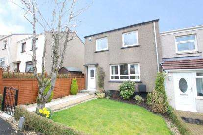 3 Bedrooms End Of Terrace House for sale in Fossil Grove, Kirkintilloch, Glasgow, East Dunbartonshire
