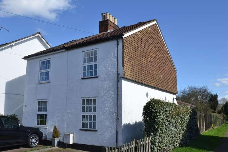 3 Bedrooms Semi Detached House for sale in Albury Road, Merstham, Surrey, RH1 3LP