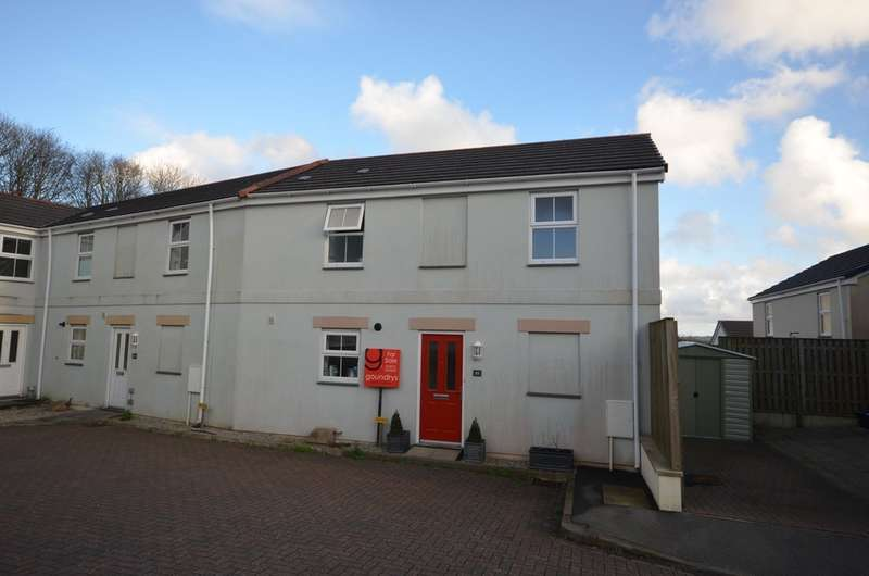 2 Bedrooms End Of Terrace House for sale in Newbridge View, Truro