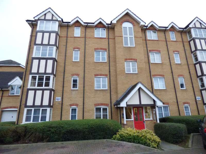 2 Bedrooms Flat for sale in The Sidings, Bedford, MK42 9NF