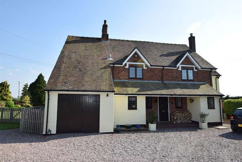 4 Bedrooms Detached House for sale in Holly Lodge, 62 Stanton Upon Hine Heath, Shrewsbury, SY4 4EU