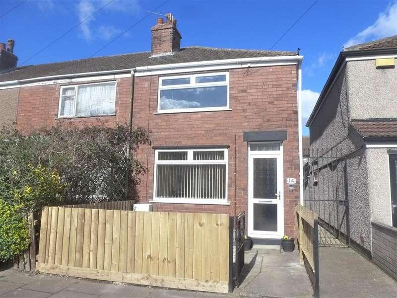 2 Bedrooms Terraced House for sale in Hinkler Street, Cleethorpes