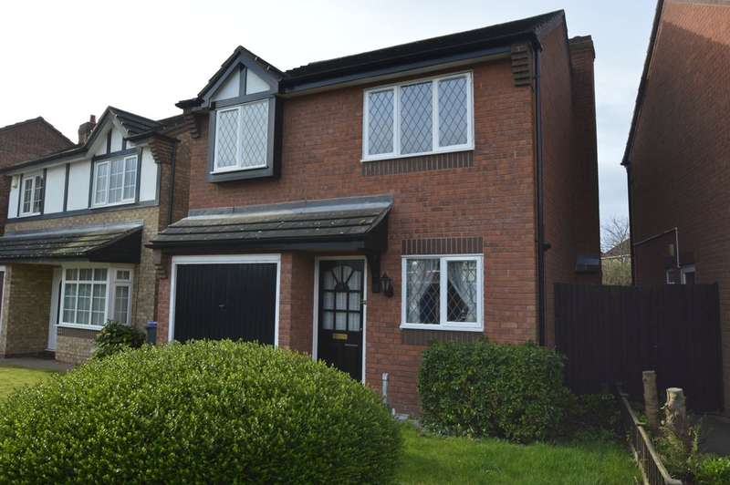 3 Bedrooms Detached House for sale in Shawbirch, Telford